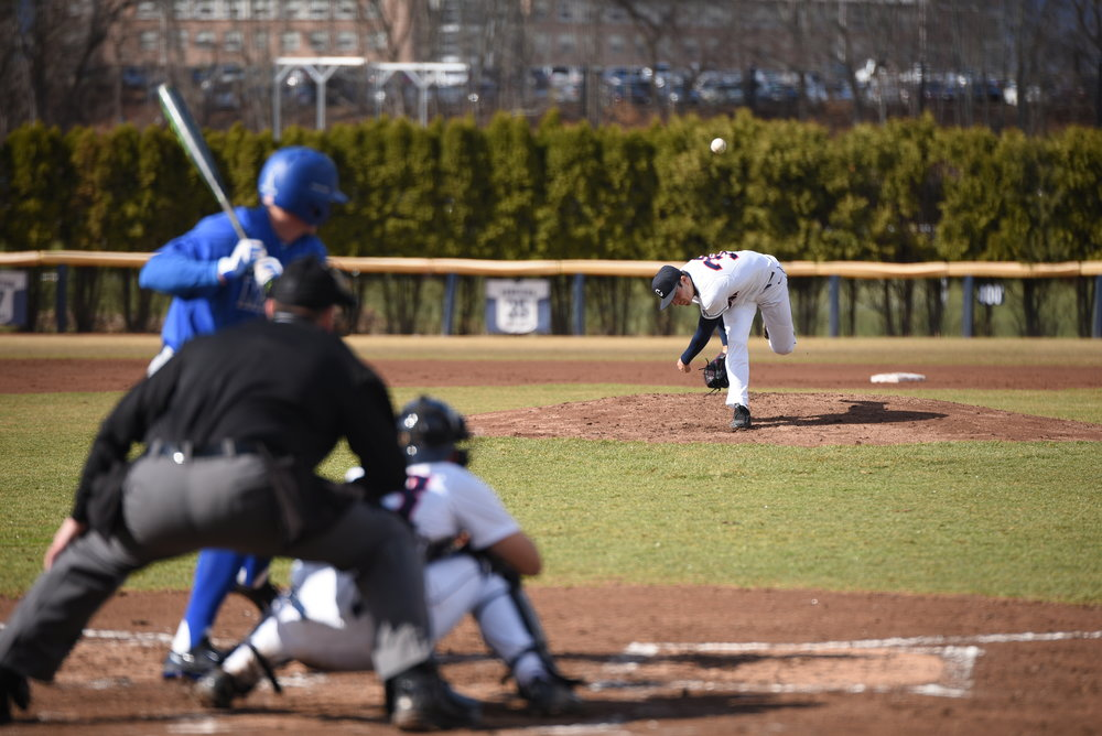 Despite a strong season start, the UConn baseball team has slid recently, narrowly avoiding a second conference sweep. (Zhelun Lang/The Daily Campus)