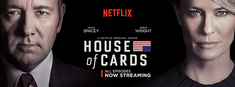 "New seasons of the popular Netflix original series ""House of Cards"" are being added to Netflix this May including many more shows and films.  (House of Cards/Facebook)"