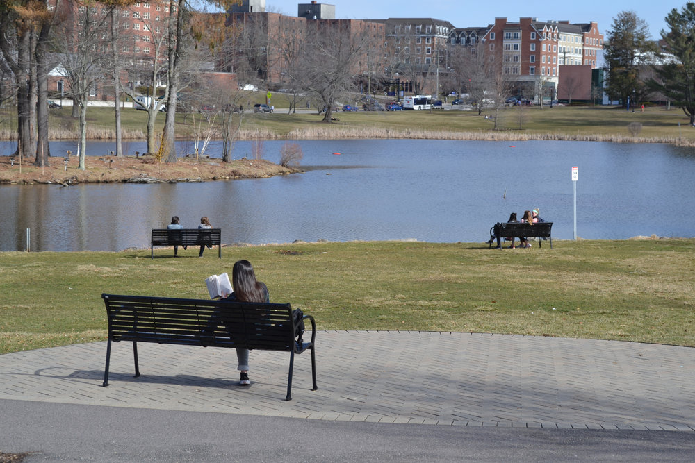"Now people ask me, ""Are you going to miss UConn?"" My answer is always ""yes."" I've sought to slow down this final month, which was fruitless, as life only moved faster once the weather got warmer. (Olivia Stenger/The Daily Campus)"