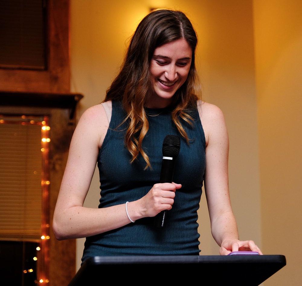 Outgoing Digital Editor Cheyenne Haslett. (Courtesy of Ellen Yang)