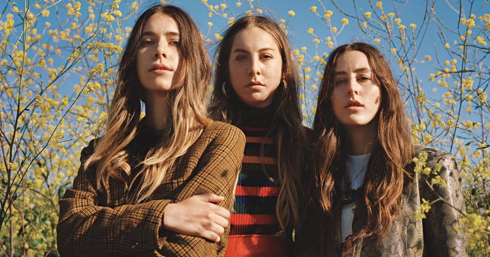 The band HAIM. (Photo courtesy rollingstone.com)