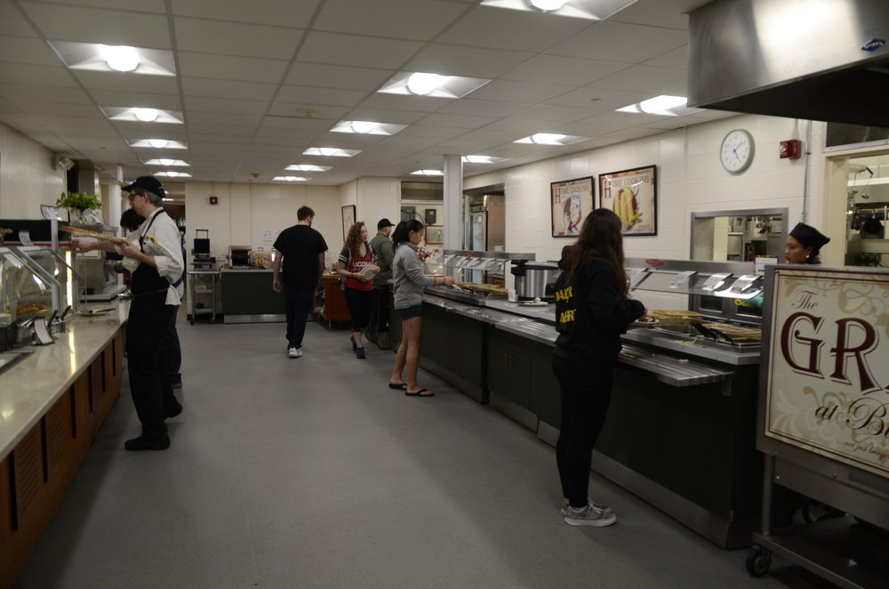 Dining Halls like Buckley will see noticeable changes this year. (Charlotte Lao/The Daily Campus)