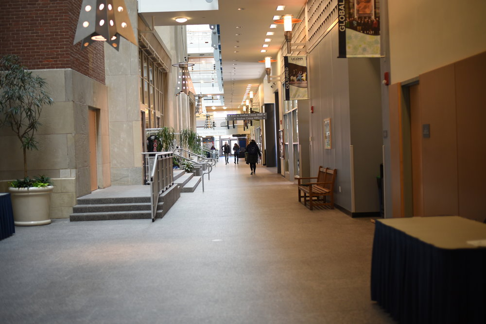 Until freshmen have grown sick of the Union Street Market, writer Abby Brone recommends avoiding the Student Union at all costs. (File photo/The Daily Campus)
