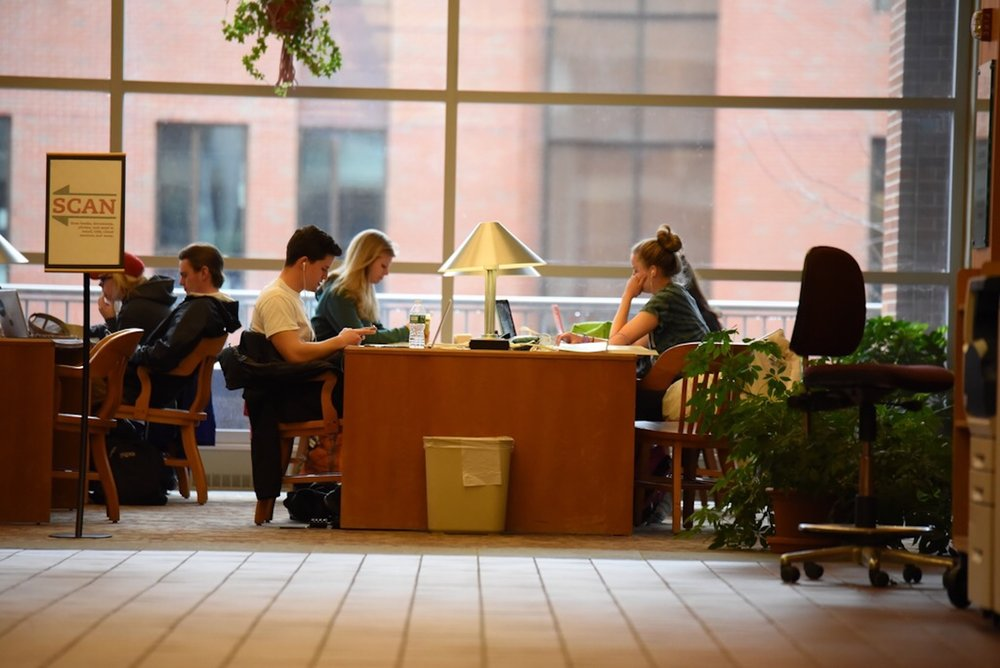 There are several different, efficient ways to study through out college, the important thing is to find them. (Olivia Stenger/Daily Campus)