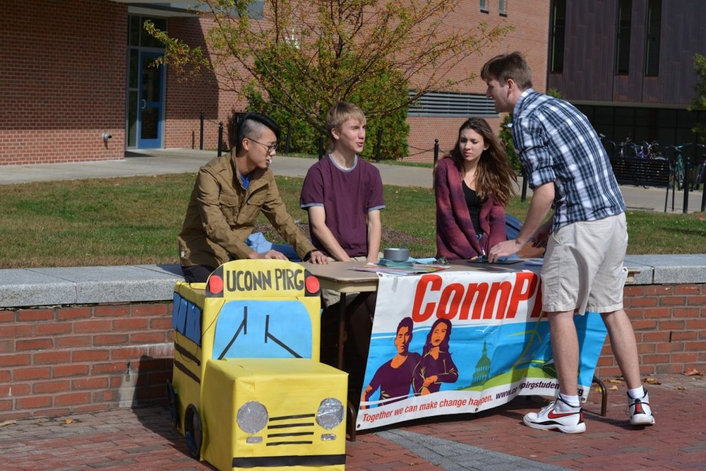 Student activist group UConnPIRG is currently seeking to recruit any and every student willing to volunteer with them to gain leadership experience. (Patrick Gosselin/Daily Campus)