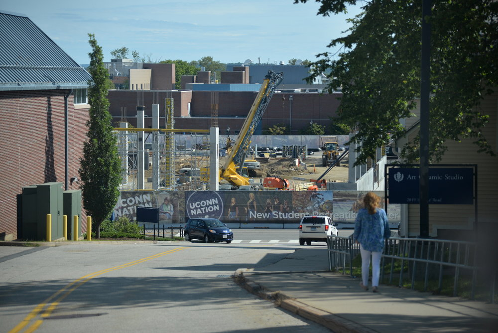 Another year, another round of construction projects at the University of Connecticut. While students have repeatedly poked fun at these in the past, even quipping that UConn is the University of Construction, the list is really quite impressive this year. (Amar Batra/Daily Campus)