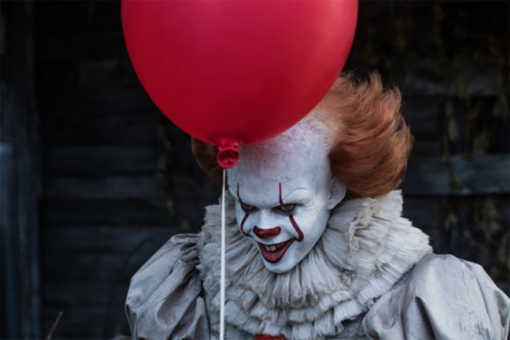 "Stephen King, the master of fear, monopolized on this in his well-known book ""It,"" which now boasts two movie adaptations. (Screenshot/It The Movie)"