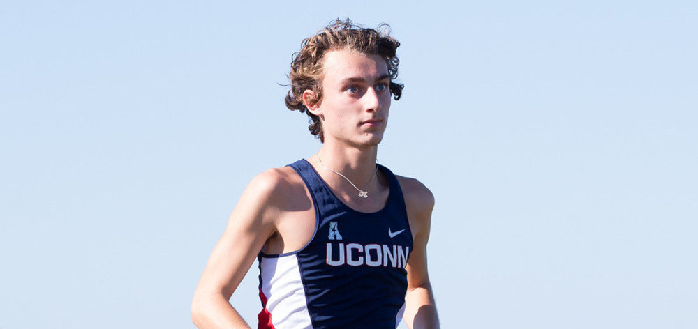 This weekend marked the first win of the season for UConn Cross Country. (UConn Athletics)