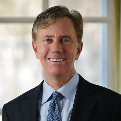 Professor Ned Lamont (Courtesy/UConn Thomas J. Dodd Research Center)