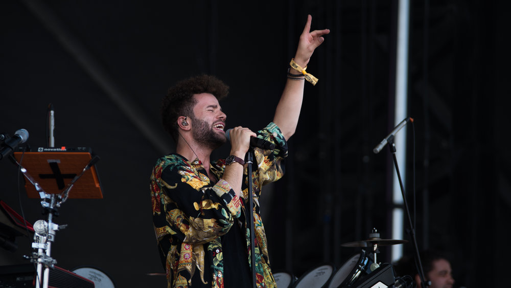 Youngr jams out on day two of The Meadows Music and Art Festival at Citi Field on Sat. Sept. 16, 2017. (Amar Batra/The Daily Campus)