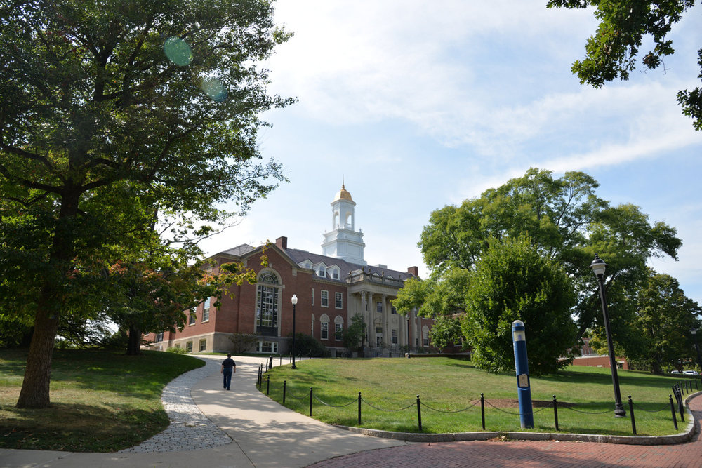 The Wilbur Cross building houses many university offices of adminitstration. (Amar Batra/The Daily Campus)