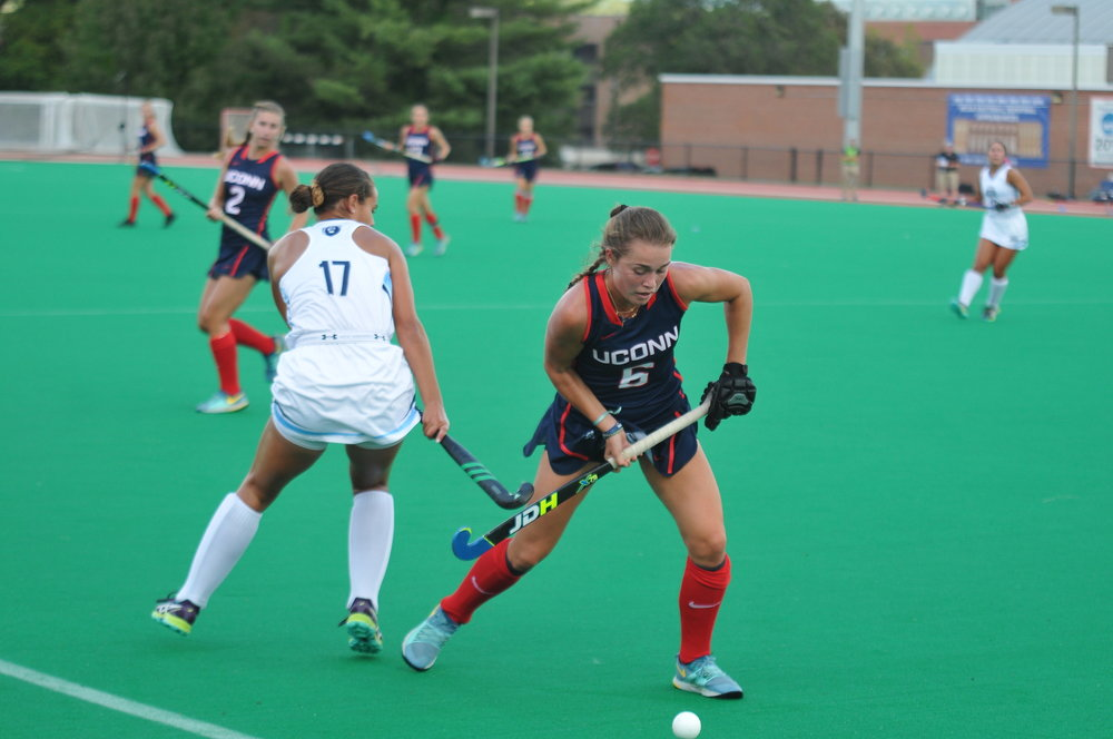 UConn faced Old Dominion on Friday September 15. The Huskies dominated the entirety of the game, shutting out Big Blue 6-0. The Huskies continue their winning streak, now tallying up to 6 in a row. (Jon Sammis/The Daily Campus)