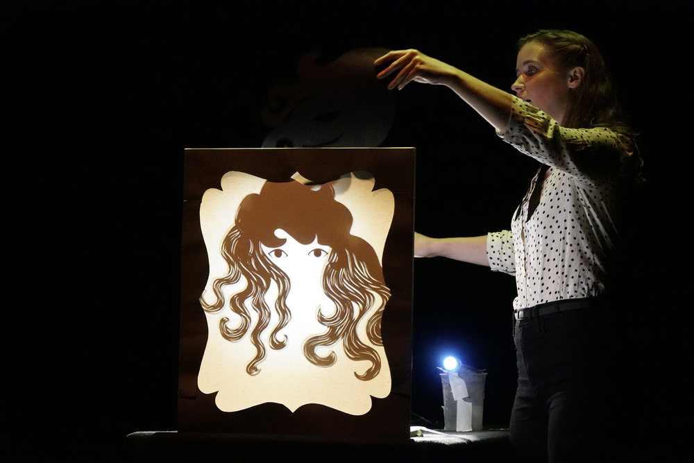 UConn's School of Puppetry presents live and digital works by undergrads and graduate students in a laughter-filled night of story telling.  (Eric Wang/The Daily Campus)