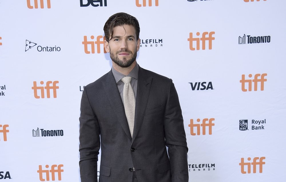 "Austin Stowell attends a premiere for ""Battle of the Sexes"" on day 4 of the Toronto International Film Festival at the Ryerson Theatre on Sunday, Sept. 10, 2017, in Toronto. (Photo by Evan Agostini/Invision/AP)"