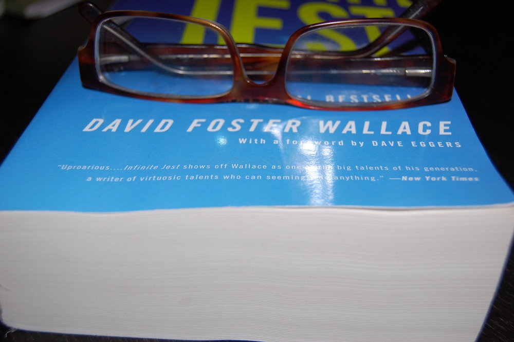 "David Foster Wallace, the celebrated author of ""Infinite Jest,"" would be bewildered by today's accusations that he is a great male narcissist. (Daniel Silliman/Creative Commons)"