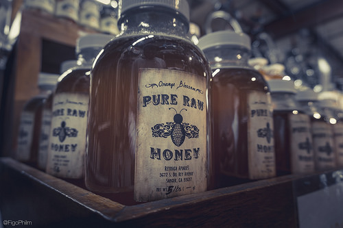 Honey is one of the few natural foods that has an infinite shelf life and can be used in numerous different ways. (Creative Commons/Ben Phillips)