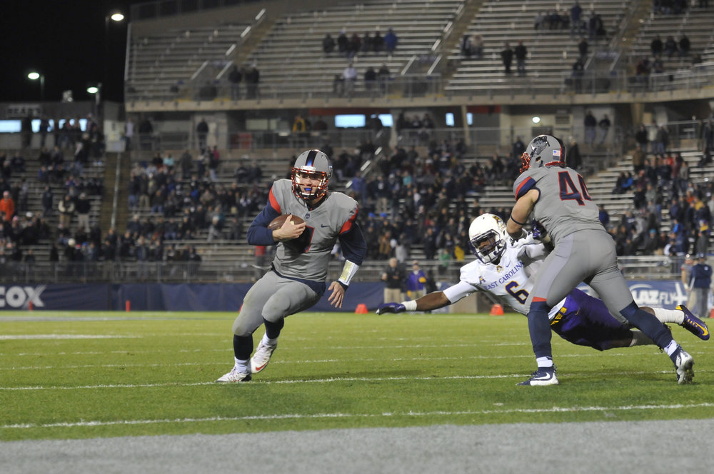 UConn football defeated ECU by 31-13 on Oct. 30, 2017. (File Photo/The Daily Campus)