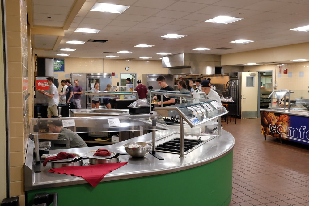 Dining Services had had to make cuts in several facets, including cereals, in order to reduce expenses. (Jon Sammis/The Daily Campus)