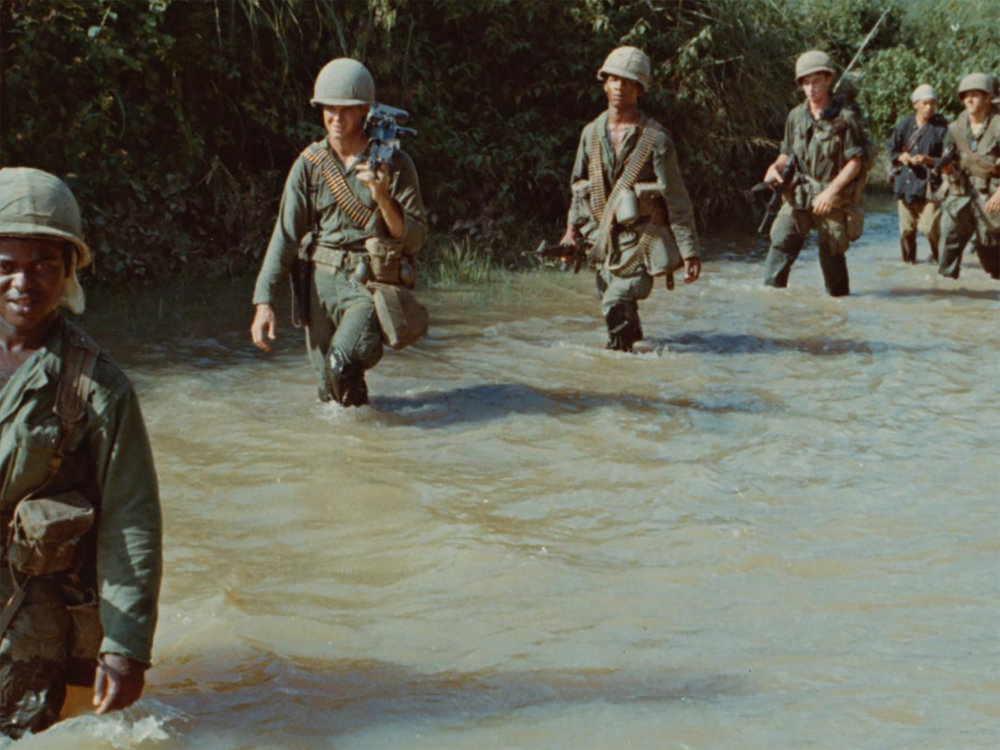The Vietnam War by filmmaker Ken Burns is the story of an oppressed colony ruled by a foreign empire which rises up against a vastly superior force in a fight for their freedom and independence. (Screenshot from episode one)