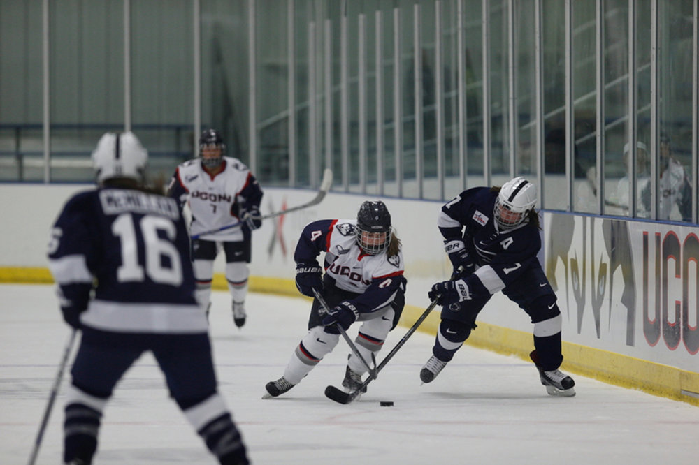 UConn women's hockey against Penn State last season. (File Photo/The Daily Campus)