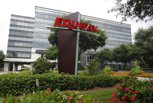 This Saturday, July 21, 2012, photo shows the Equifax Inc. headquarters in Atlanta. On Tuesday, Sept. 26, 2017, credit reporting agency Equifax ousted CEO Richard Smith in an effort to clean up the mess left by a damaging data breach that exposed highly sensitive information about 143 million Americans. (AP Photo/Mike Stewart)