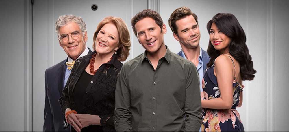"CBS's new show ""9JKL"" aired for the first time on Oct. 2, 2017. (Screenshot courtesy of  CBS.com )"
