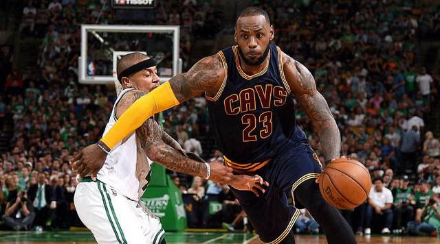 The NBA offseason saw plenty of players find new homes and, consequently, find some new teammates. LeBron James and Isaiah Thomas will be teammates on the Cleveland Cavaliers. (Creative Commons/Tienda GAM)