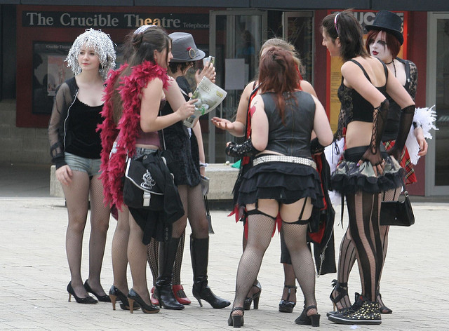 Nowadays, Rocky Horror showings have become a cult and cultural phenomenon. Some have attributed the show to their budding interest in musicals, 70s glam culture and even their sexual awakenings. (Creative Commons/Liz Jones)