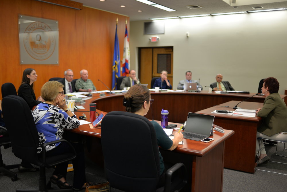 The Mansfield Town Council passed measures recently that the Editorial Board believes are unfair to students.  (Amar Batra/The Daily Campus)