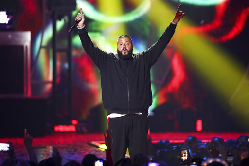The annual BET Hip-Hop Awards are back, hosted for the second consecutive year by DJ Khaled. Khaled himself is nominated for a record nine different awards, including MVP of the Year and Producer of the Year. (AP Photo/John Salangsang)