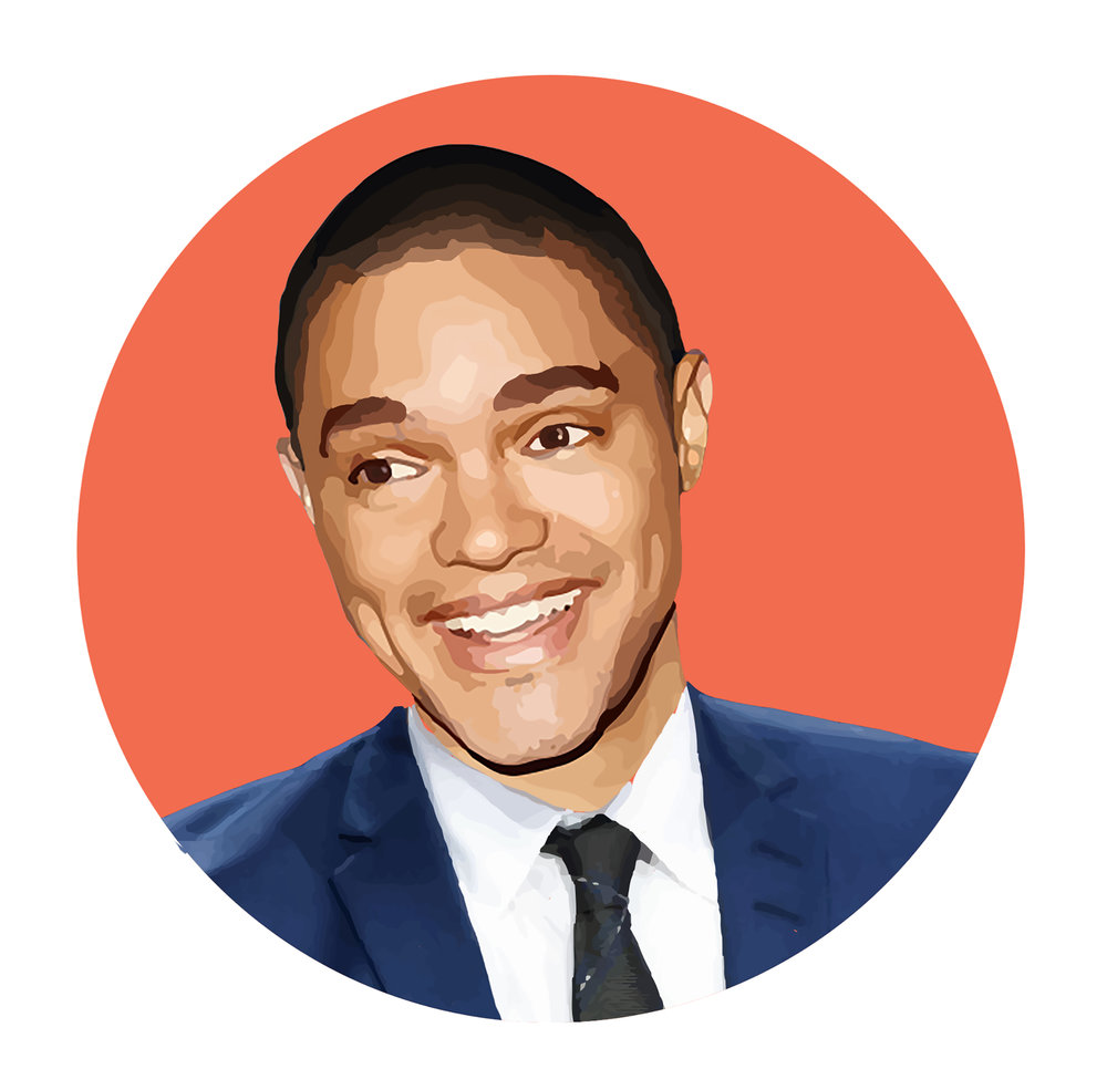 Trevor Noah, a South African native, spent his childhood during the last years of apartheid -- a time of racial segregation in which non-white and white South Africans were separated from each other. Being the only black host of late night television, Noah brings a unique perspective on race relations under our current political climate. (Graphic by Hayley Joya/The Daily Campus)