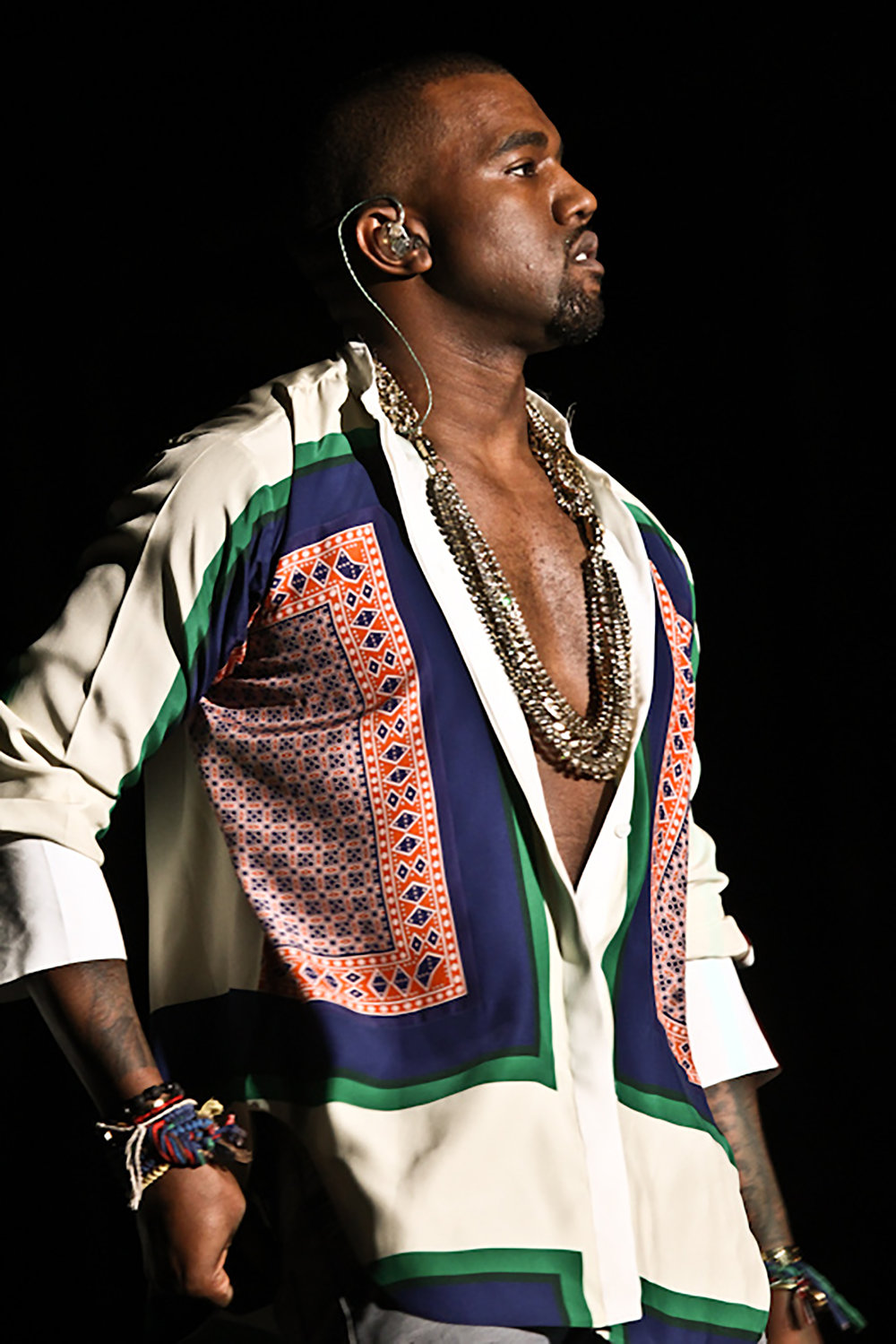 "Kanye West has been making music long enough that his fans call differnt parts of his career ""eras"".  (paniko.cl/Flickr Creative Commons)"