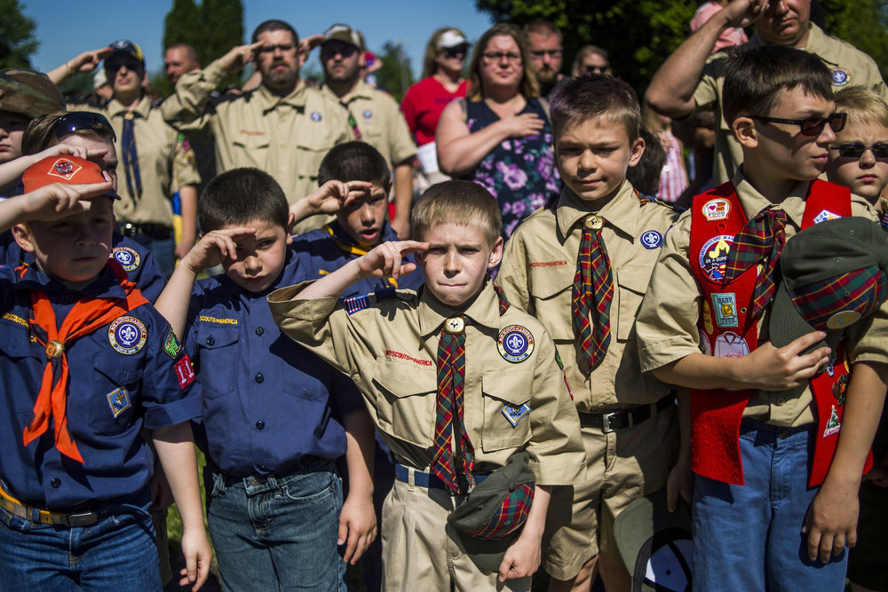 This past weekend, the Boy Scouts of America (BSA) changed one of their most well-known rules for the first time in their 107-year history. The BSA recently announced they would be opening their traditional Scouting programs to girls starting next year. (Jake May/AP)