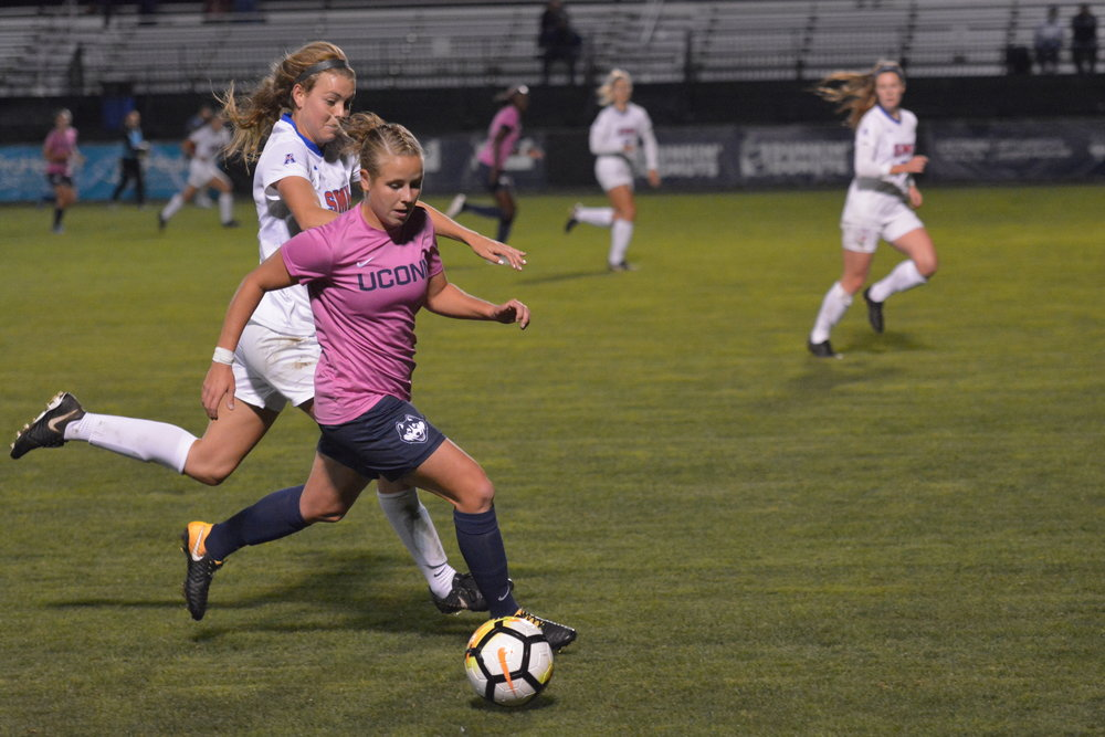 The UConn women's soccer team will face top-10 opponent UCF, one of their toughest matches of the year, on October 19. (Nicholas Hampton/The Daily Campus
