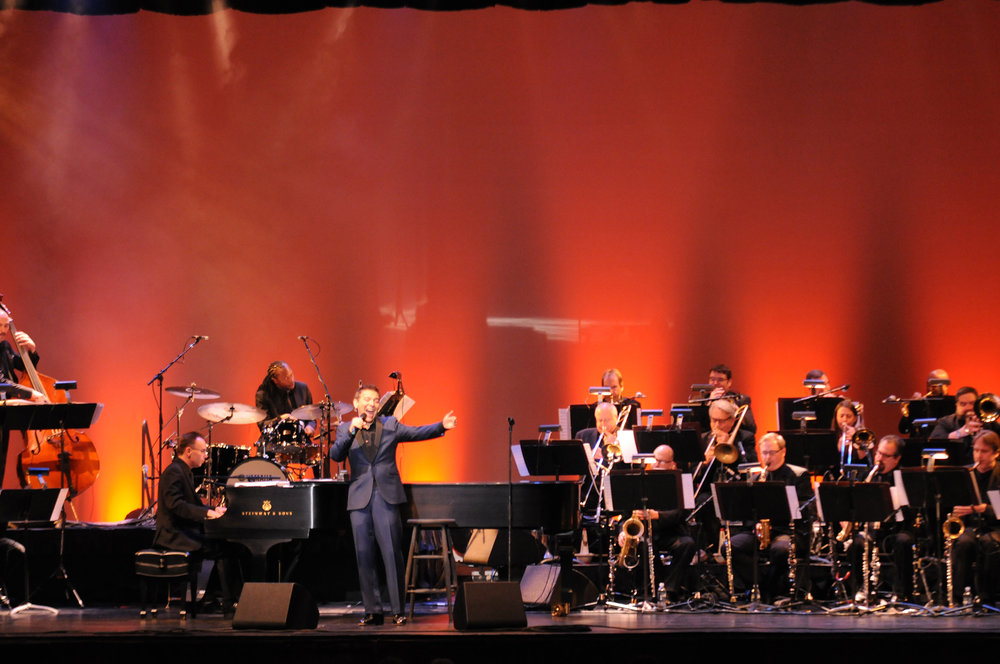 Renowned singer and pianist, Michael Feinstein preformed at Jorgensen theatre Saturday night, Oct. 21, 2017. (File Photo/The Daily Campus)