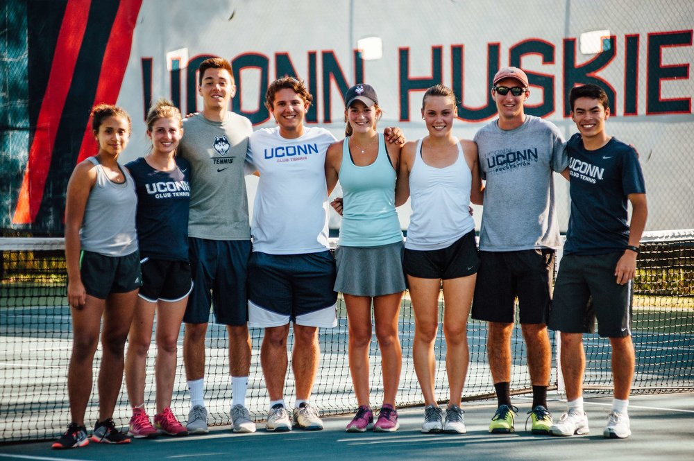 Besides finishing in the top five in the gold bracket or top of the silver bracket, another way to get a bid to nationals is to be voted Club of the Year by the USTA. The winner of this award will be announced early 2018, so hope is not yet lost for the UConn Huskies Club Tennis team. (Courtesy/UConn Club Tennis)
