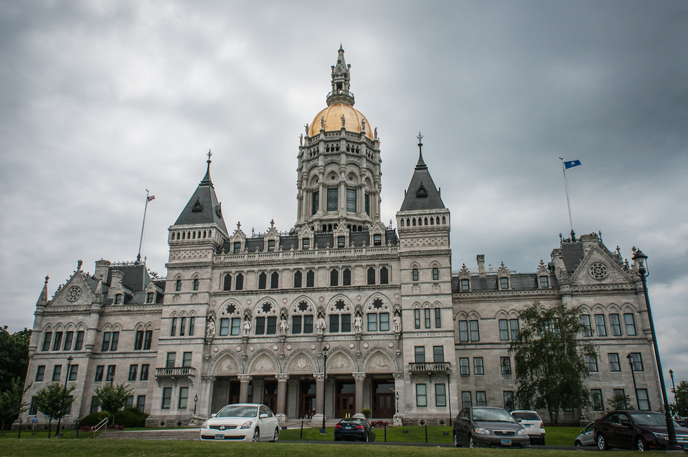 The Connecticut State Capitol building in Hartford, Connecticut. (Michelle Lee/Creative Commons)