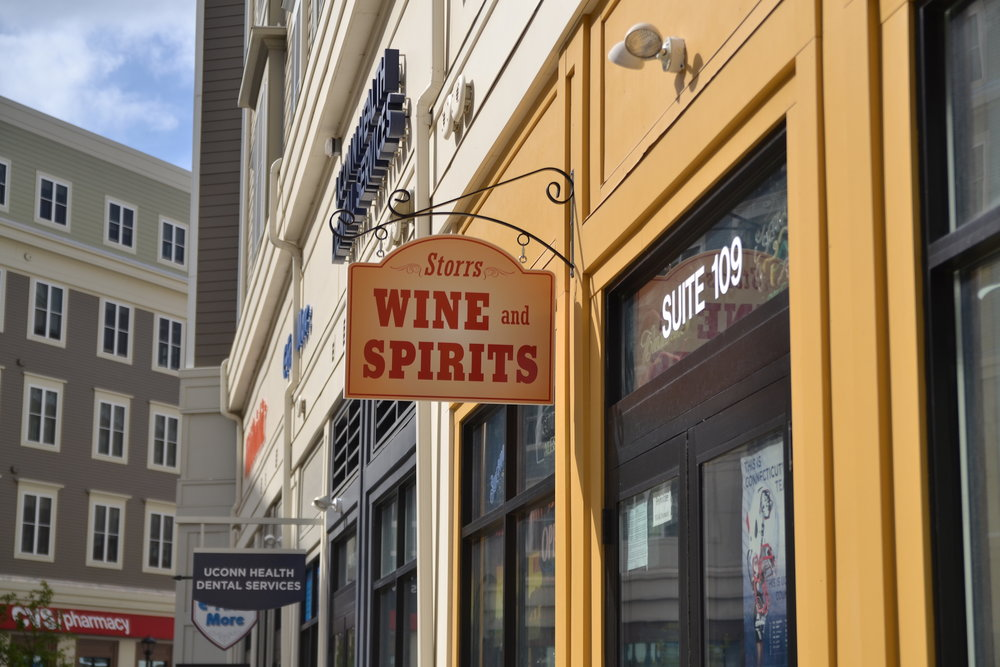 Storrs Wine and Spirits had their liquor permit suspended after selling to minors (Amar Batra/The Daily Campus)