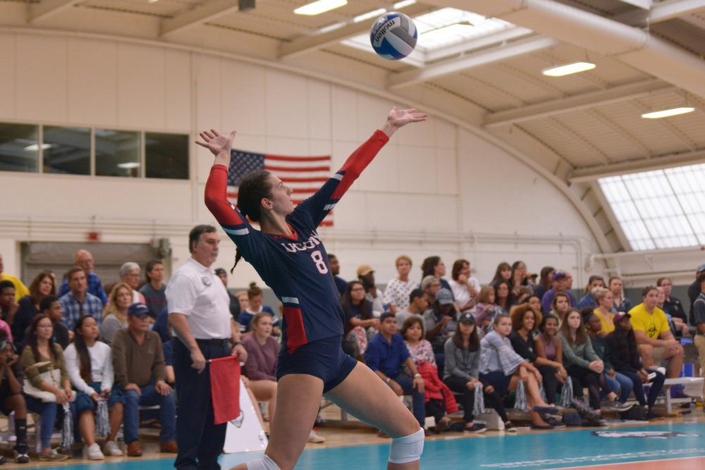 The UConn volleyball team continues their four-match home stand this weekend when they take on conference foes Tulane and Houston. (Nicholas Hampton/The Daily Campus)