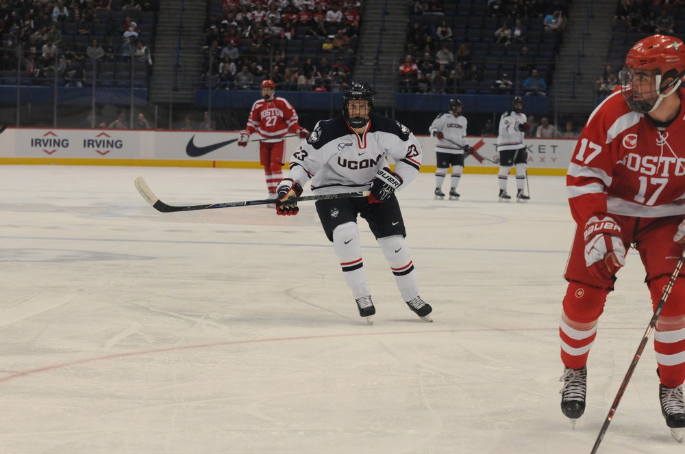 UConn went 0-2 in Ohio this weekend against a strong Redhawks program. (Jon Sammis/The Daily Campus)