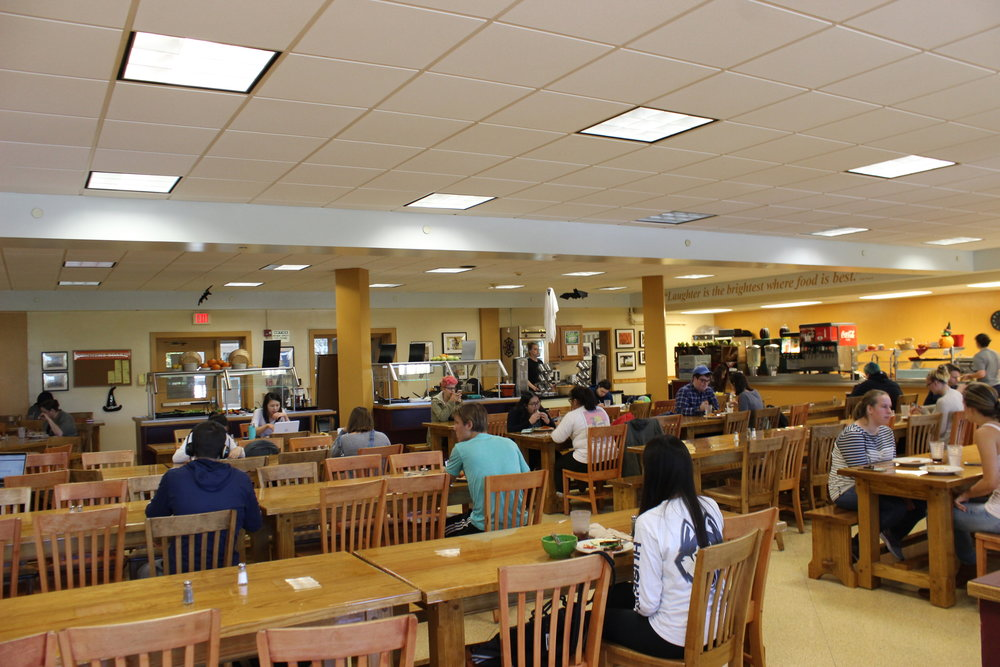 Whitney Dining Hall caters to students with alternative diets (Josh Stanavage/The Daily Campus)