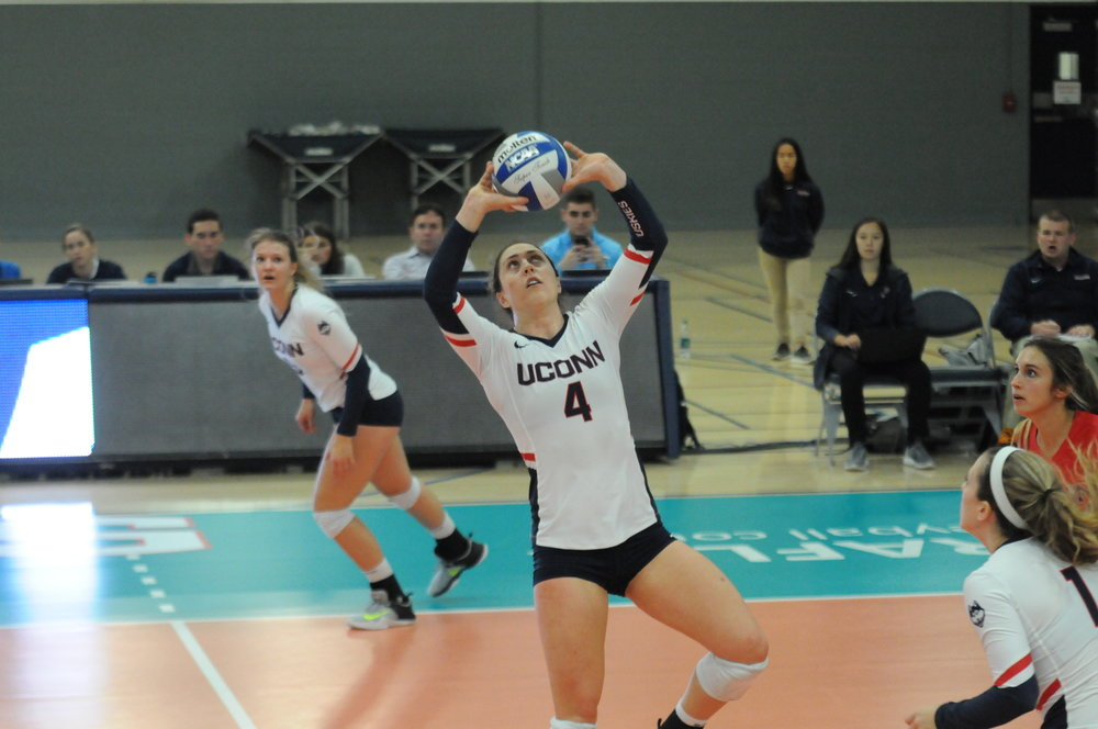 Junior Emma Turner impressed in the Huskies home match against Tulane over the weekend (Ryan Murace/The Daily Campus)