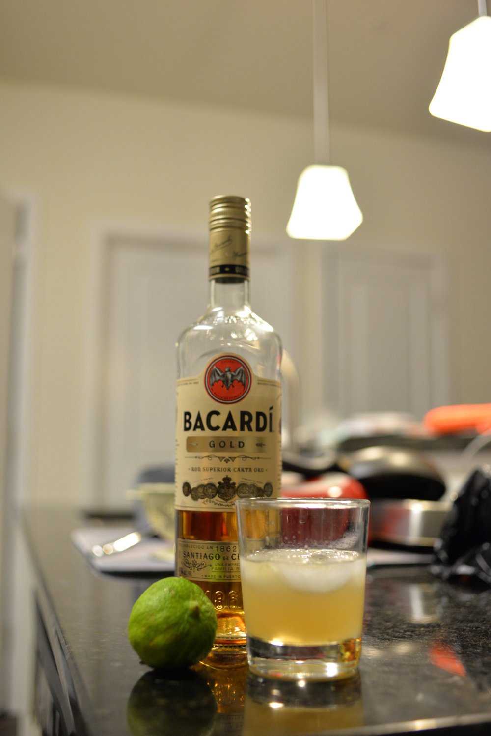 The daiquiri is a nice, easy, classic cocktail that anyone can make. (Amar Batra/The Daily Campus)