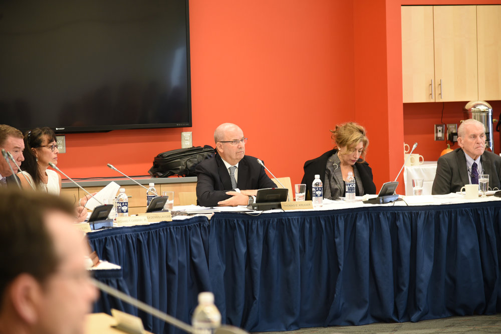In the new budget, UConn will lose $143 million in state aid over two years, Herbst said. The original budget the Connecticut Legislature proposed would have cut $309 million from UConn over two years, according to Herbst. (Charlotte Lao/The Daily Campus)