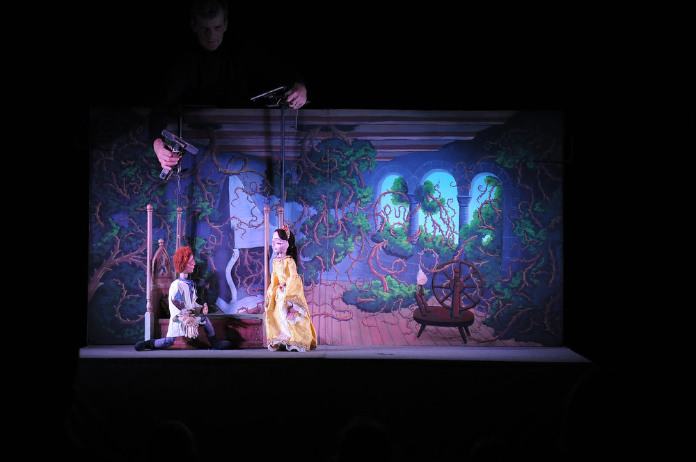 The Ballard Institute and Museum of Puppetry hosts Tanglewood Marionettes in a showing of Sleeping Beauty Saturday Nov. 4, 2017 at 11:00 am and 2:00 pm.  (Natalija Marosz/The Daily Campus)