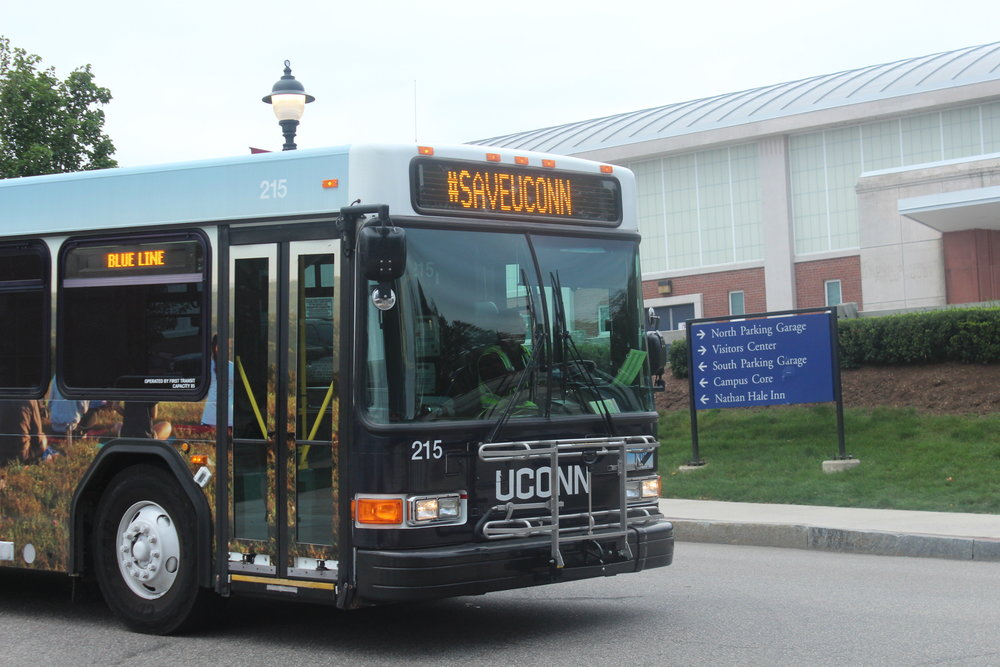 UConn Transportation Services is making adjustments mid-semester to serve students (Ryan Murace/The Daily Campus)