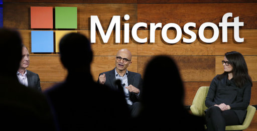 Students have been less likely to attend graduate school because most can land jobs at places like Microsoft with just their bachelor's degree. (AP Photo/Elaine Thompson, File)