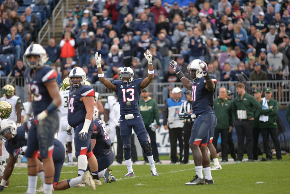 UConn and UCF will kick off at 12 p.m. Saturday at Spectrum Stadium in Orlando, Florida. (Amar Batra/The Daily Campus)