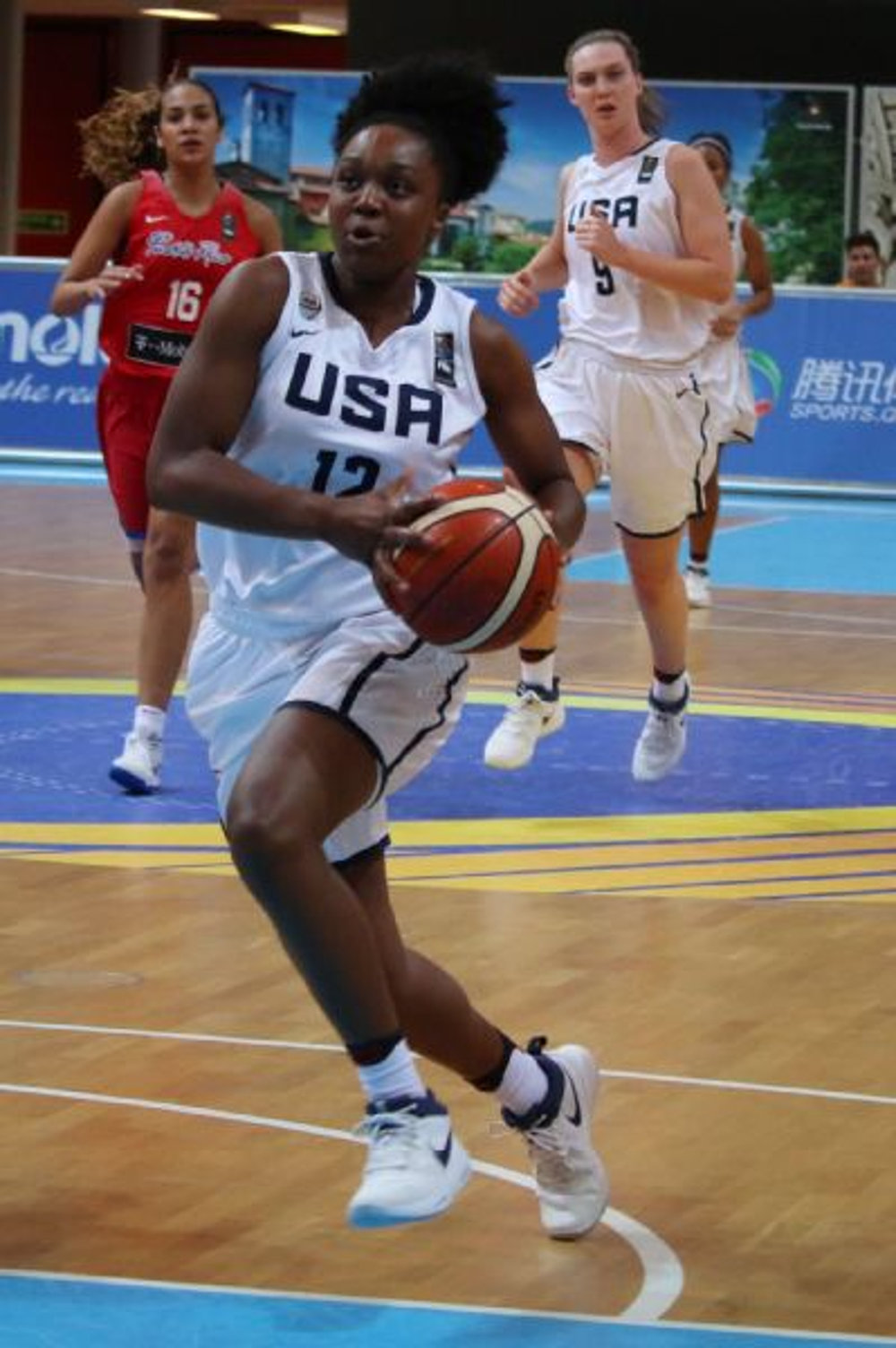 Christyn Williams, the nations No. 1 recruit, committed to UConn recently (Photo Courtesy USA Basketball)