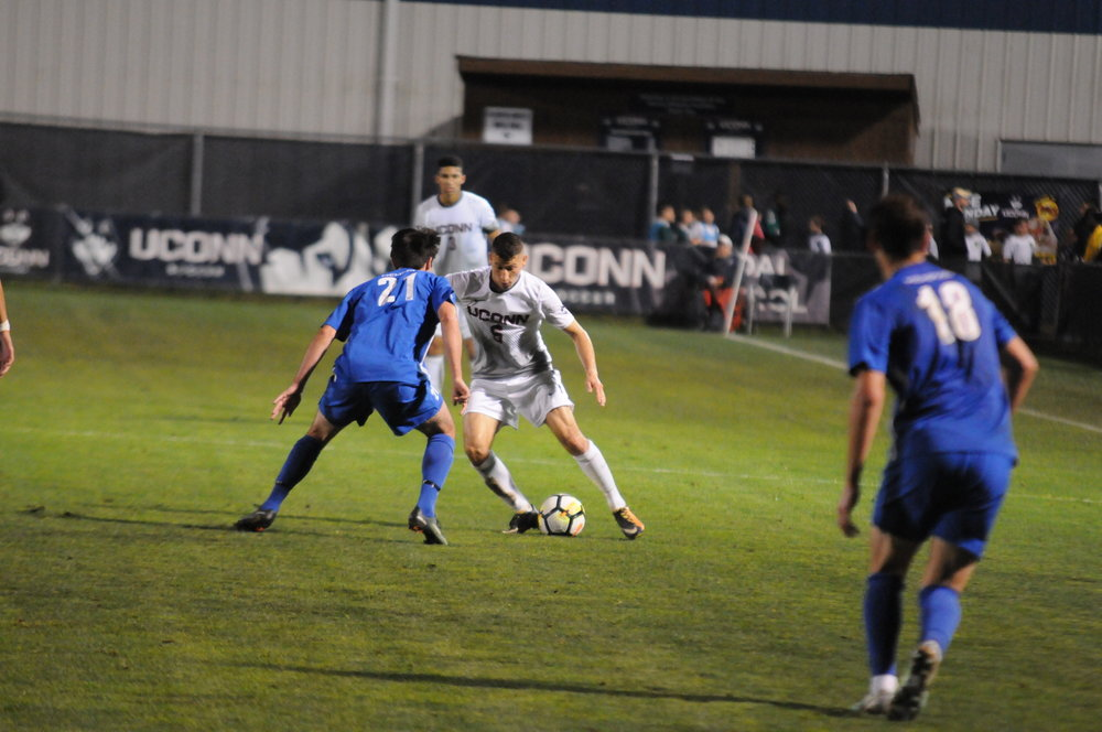 Another season is in the books for UConn men's soccer after a 1-0 loss to UCF (Jon Sammis/The Daily Campus)